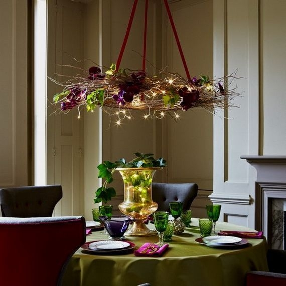 Luxury Christmas Table Decoration For Celebrating Christmas This Year 55
