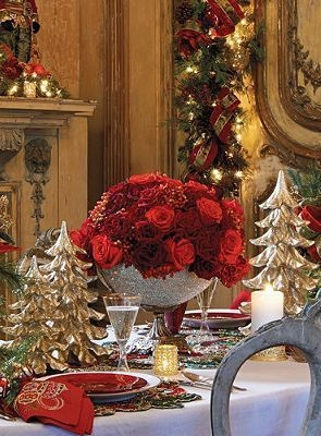 Luxury Christmas Table Decoration For Celebrating Christmas This Year 56