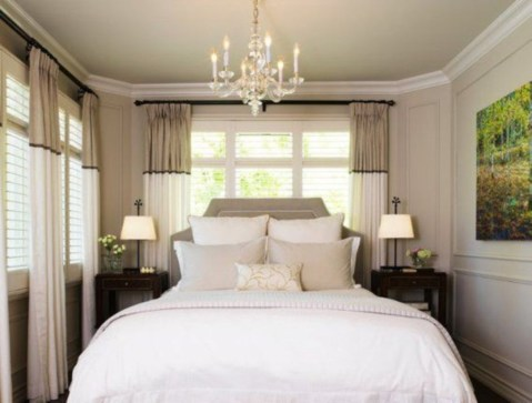 Small Master Bedroom Decor Ideas 24