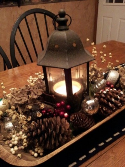 Tips To Make DIY Christmas Table Decorations 19
