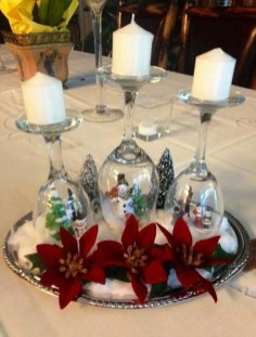Tips To Make DIY Christmas Table Decorations 34