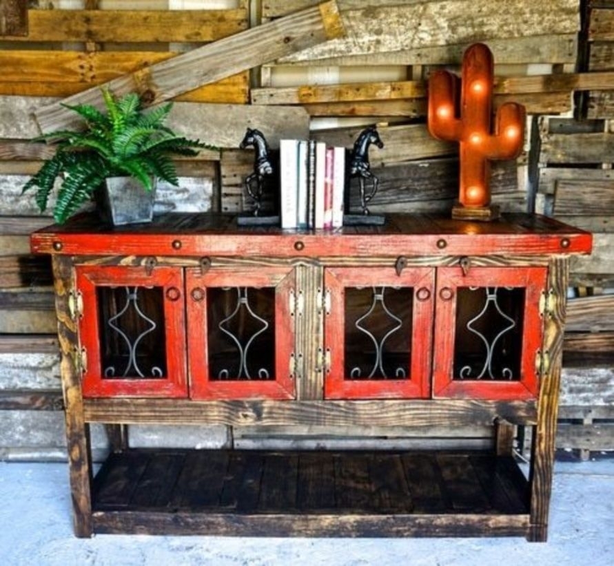 Ways To Upgrade Your House With Rustic Furniture Ideas 08