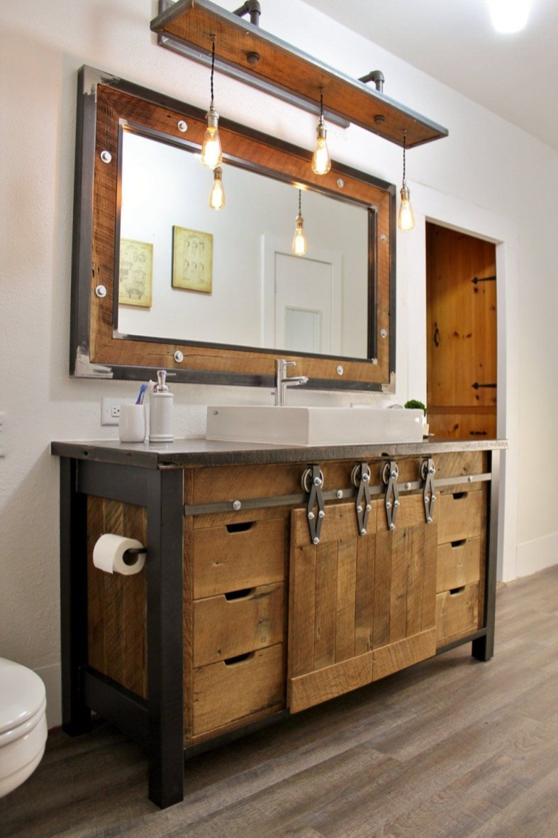 Ways To Upgrade Your House With Rustic Furniture Ideas 46