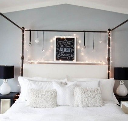 Ways To Use Christmas Light In Your Room 13