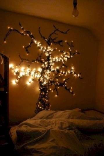 Ways To Use Christmas Light In Your Room 23