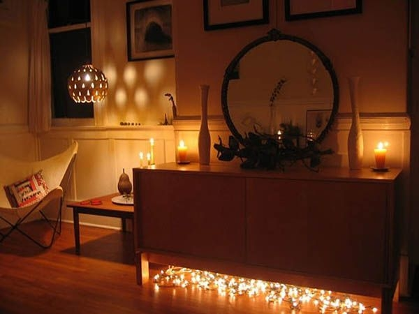 Ways To Use Christmas Light In Your Room 56