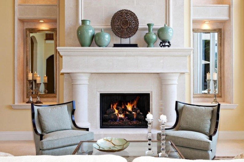 Winter Fireplace Decoration Ideas 18