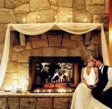 Winter Fireplace Decoration Ideas 24