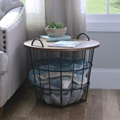 Wire Basket Ideas You Can Make For Storage 20