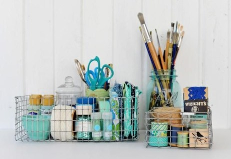 Wire Basket Ideas You Can Make For Storage 31