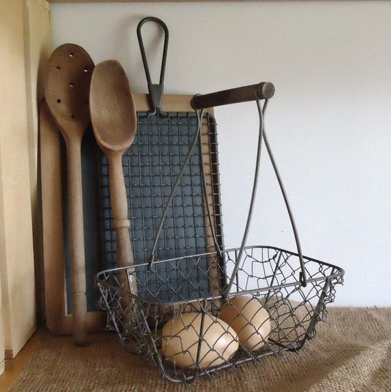 Wire Basket Ideas You Can Make For Storage 34