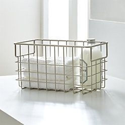 Wire Basket Ideas You Can Make For Storage 49