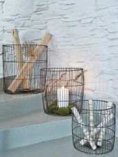 Wire Basket Ideas You Can Make For Storage 52