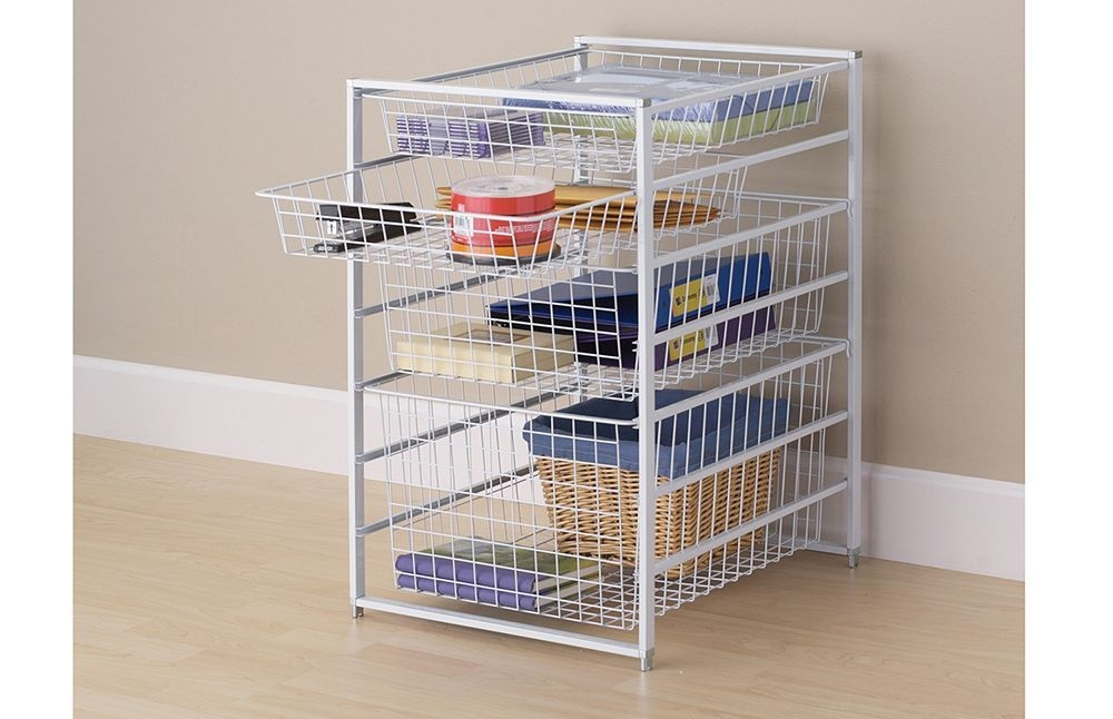 Wire Basket Ideas You Can Make For Storage 56