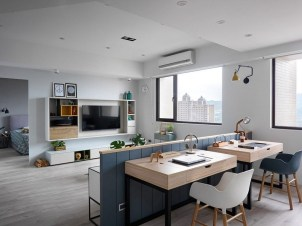 Awesome Scandinavian Style Interior Apartment Decoration 19