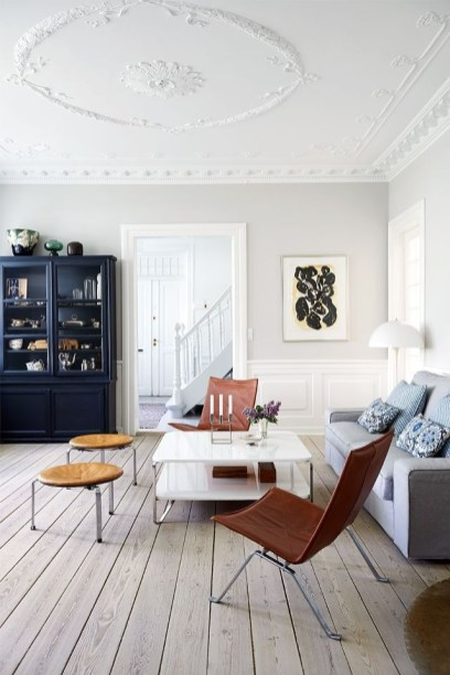 Awesome Scandinavian Style Interior Apartment Decoration 33