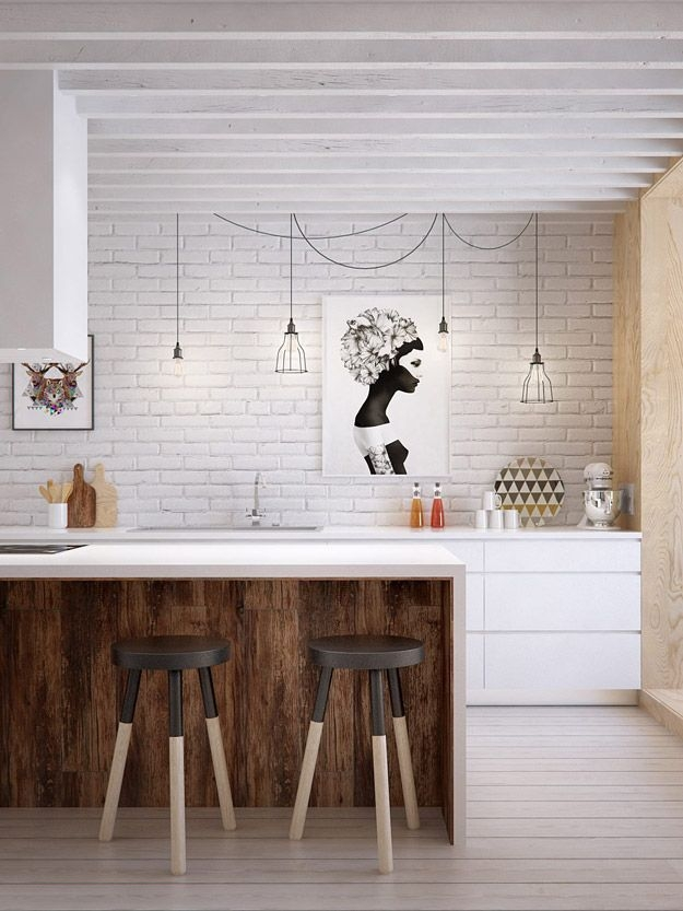Awesome Scandinavian Style Interior Apartment Decoration 37