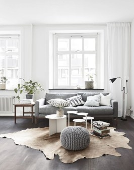 Awesome Scandinavian Style Interior Apartment Decoration 46