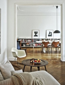 Awesome Scandinavian Style Interior Apartment Decoration 47