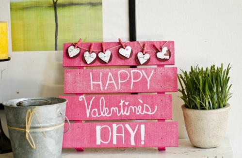 Best DIY Rustic Decoration Idea For Valentine Party 09