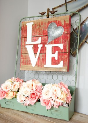 Best DIY Rustic Decoration Idea For Valentine Party 17