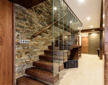 Best And Elegant Wooden Stairs In Your House 18