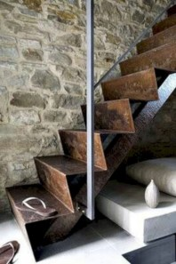 Best And Elegant Wooden Stairs In Your House 23
