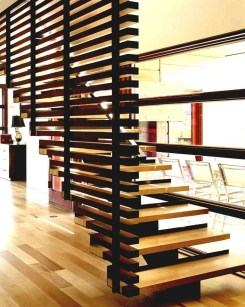 Best And Elegant Wooden Stairs In Your House 29