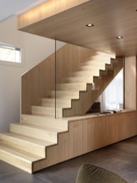 Best And Elegant Wooden Stairs In Your House 31