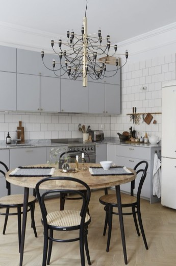 Inspiring Scandinavian Furniture For Your Kitchen Decoration 04