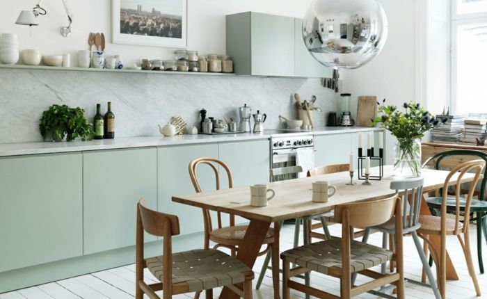 Inspiring Scandinavian Furniture For Your Kitchen Decoration 26