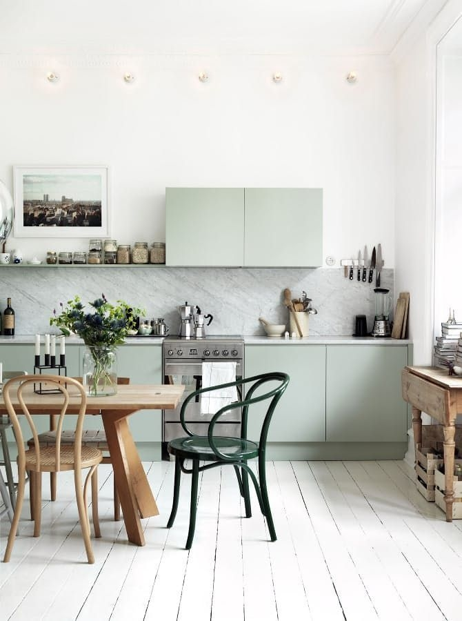 Inspiring Scandinavian Furniture For Your Kitchen Decoration 40