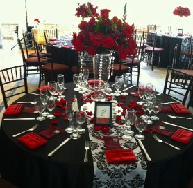 Romantic Table Decoration For Valentine's 03