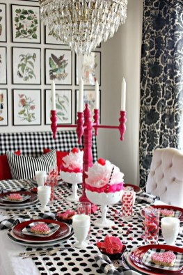 Romantic Table Decoration For Valentine's 17