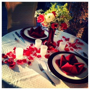 Romantic Table Decoration For Valentine's 22