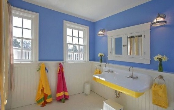 Stunning Colorful Bathroom Decoration For Your Kids 03