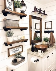 Vintage Farmhouse Bathroom Decor You Will Try 01