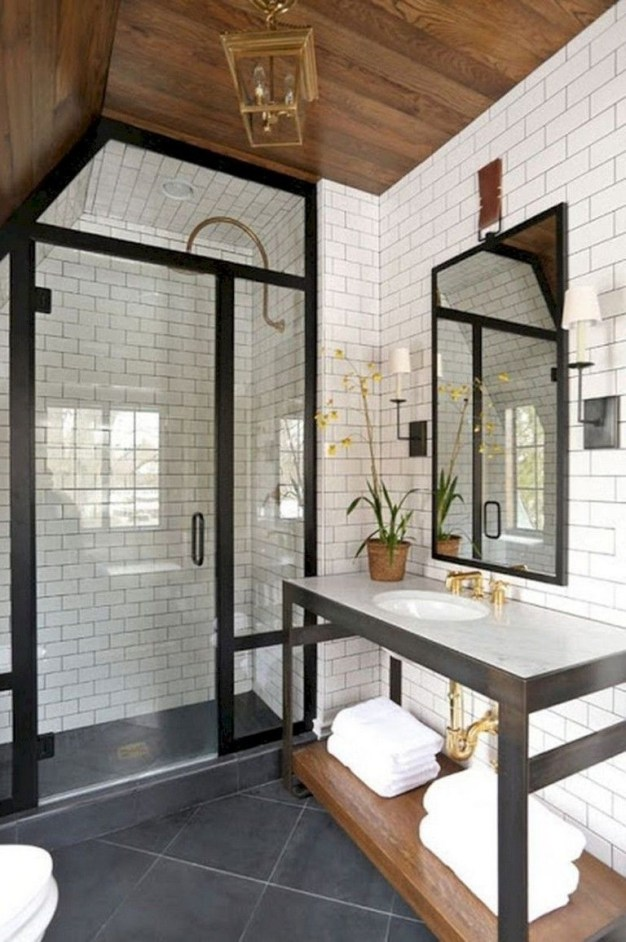 Vintage Farmhouse Bathroom Decor You Will Try 16