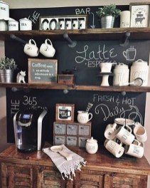 Amazing Diy Coffee Station Idea In Your Kitchen 09
