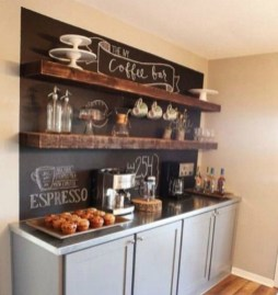 Amazing Diy Coffee Station Idea In Your Kitchen 20