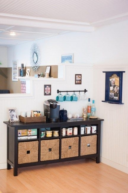 Amazing Diy Coffee Station Idea In Your Kitchen 29