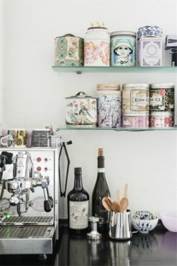 Amazing Diy Coffee Station Idea In Your Kitchen 30