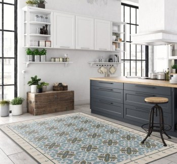 Awesome Kitchen Floor To Design Your Creativity 06