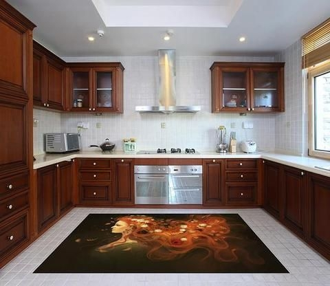 Awesome Kitchen Floor To Design Your Creativity 40