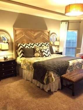Cheap And Easy DIY Headboard For Your Bedroom 19
