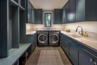 Contemporary Laundry Room Decor Ideas You Can Try For Your House 06