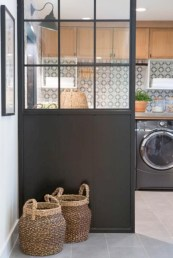 Contemporary Laundry Room Decor Ideas You Can Try For Your House 07