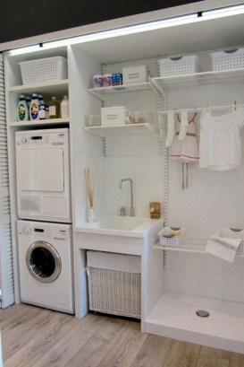Contemporary Laundry Room Decor Ideas You Can Try For Your House 11