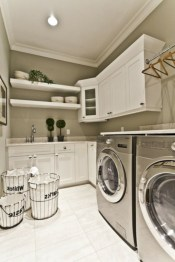 Contemporary Laundry Room Decor Ideas You Can Try For Your House 13