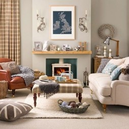 Cozy And Simple Rug Idea For Small Living Room 03